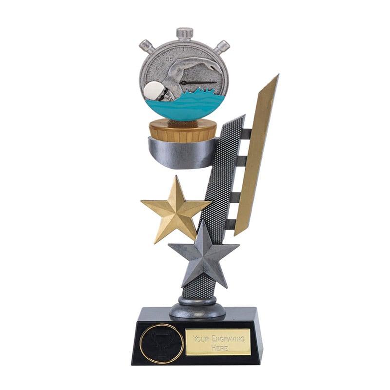 26cm Swimming Figure On Arena Award