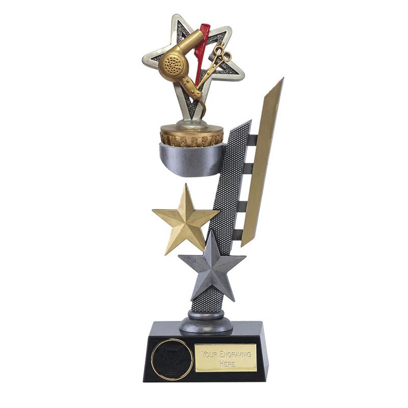 26cm Hairdressing Figure On Arena Award