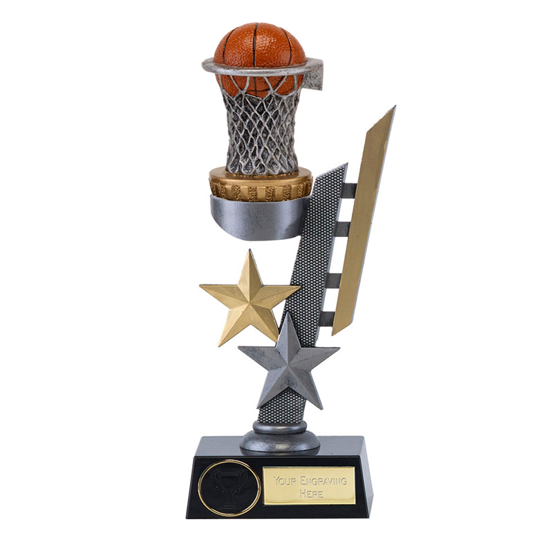 28cm Basketball Figure on Basketball Arena Award