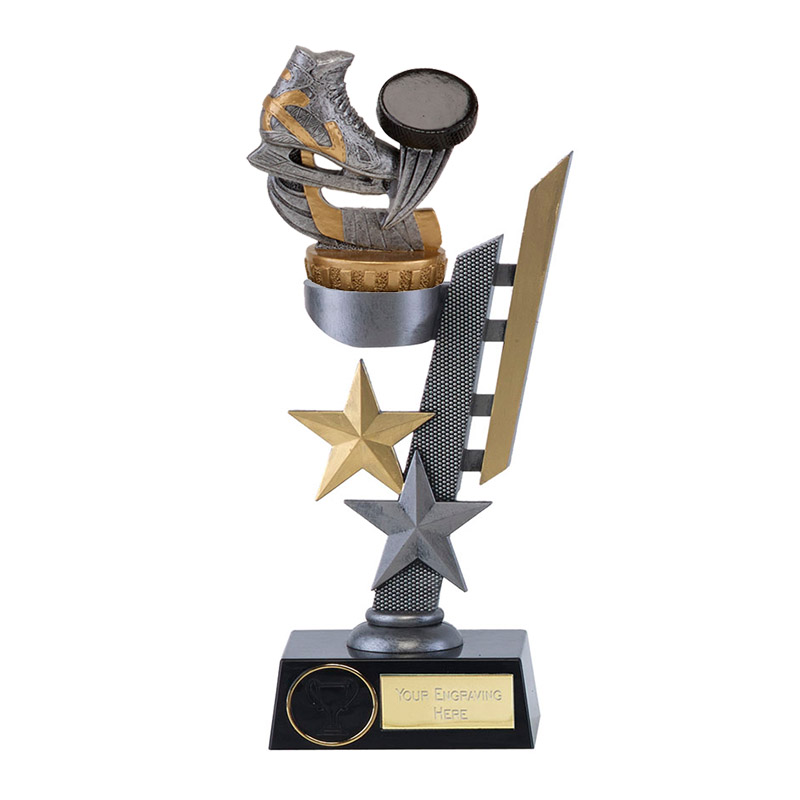 28cm Ice Hockey Figure on Hockey Arena Award