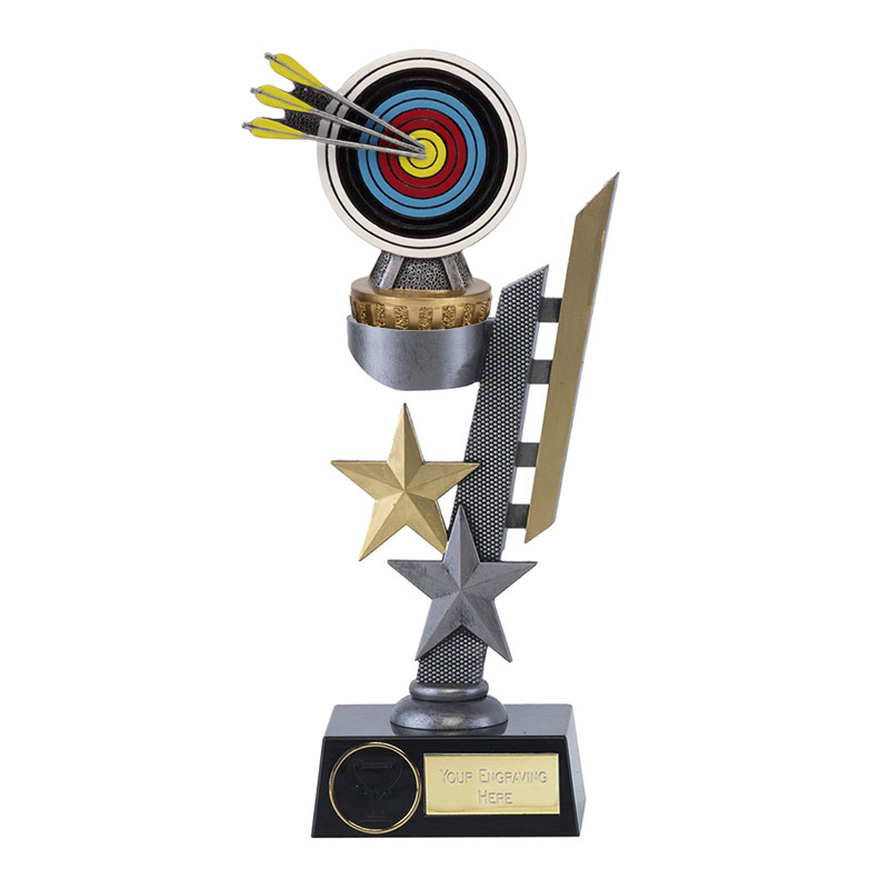 28cm Archery Figure on Archery Arena Award
