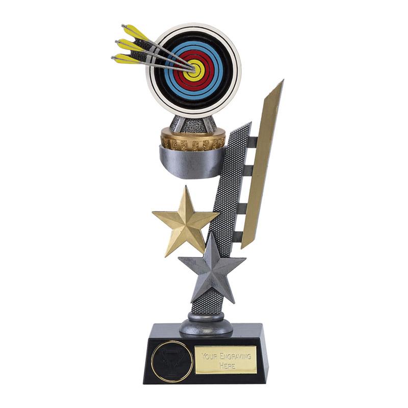 28cm Archery Figure on Archery Arena Award