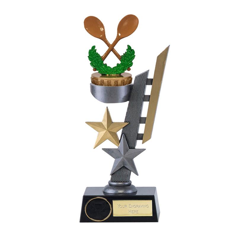 28cm Wooden Spoon Figure On Arena Award