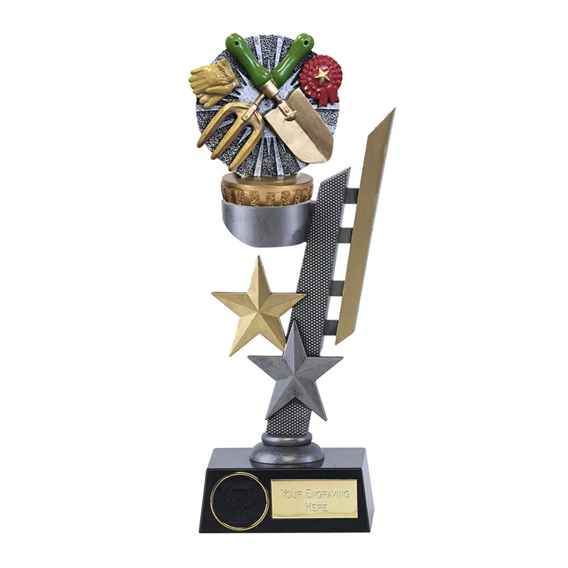 28cm Gardening Figure On Arena Award