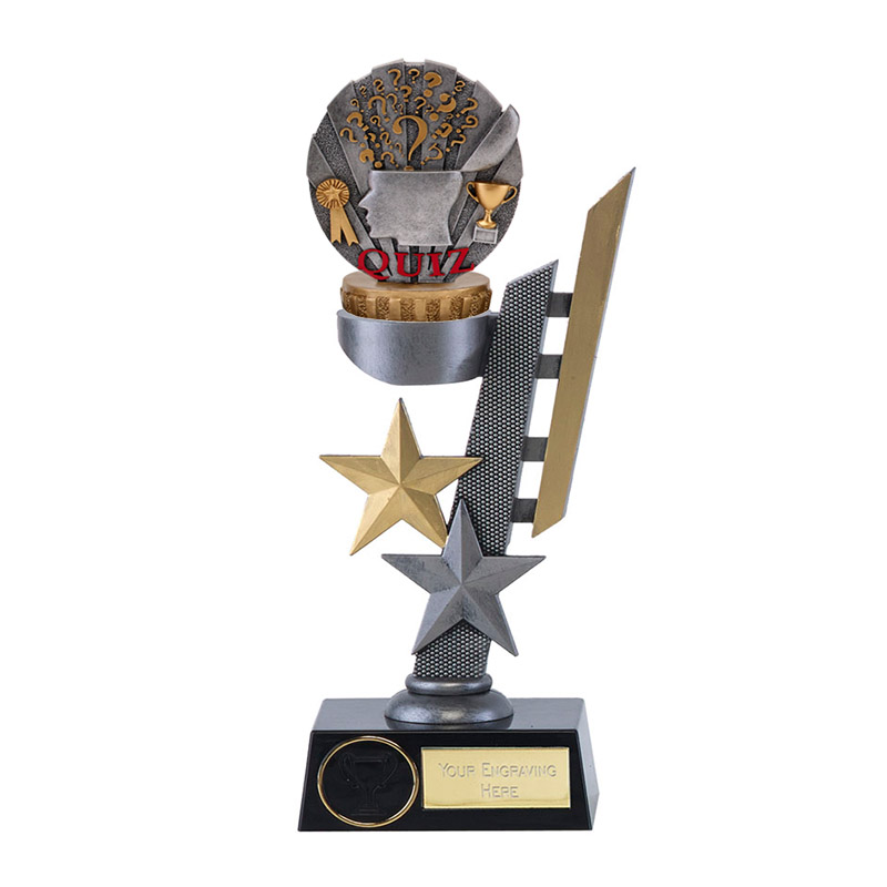 28cm Quiz Figure on School Arena Award