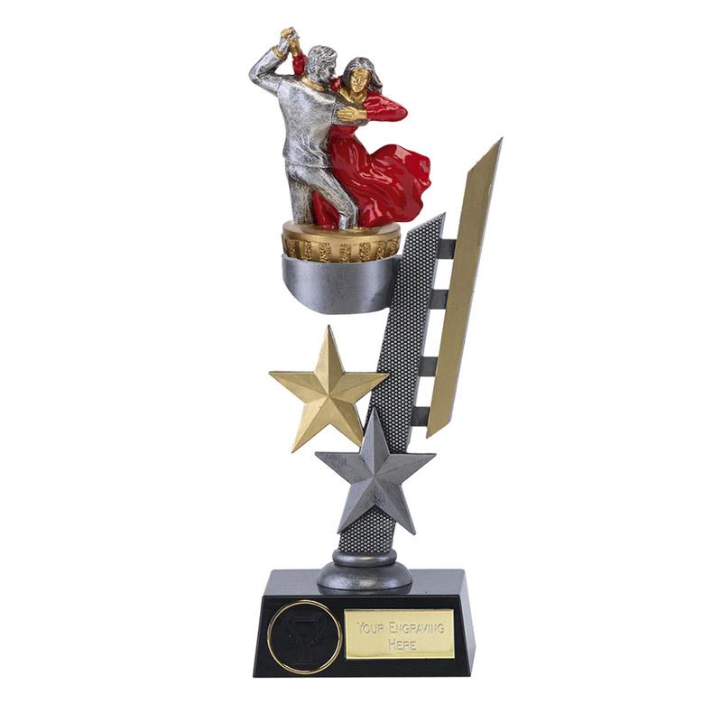 28cm Ballroom Dancing Figure On Dance Arena Award