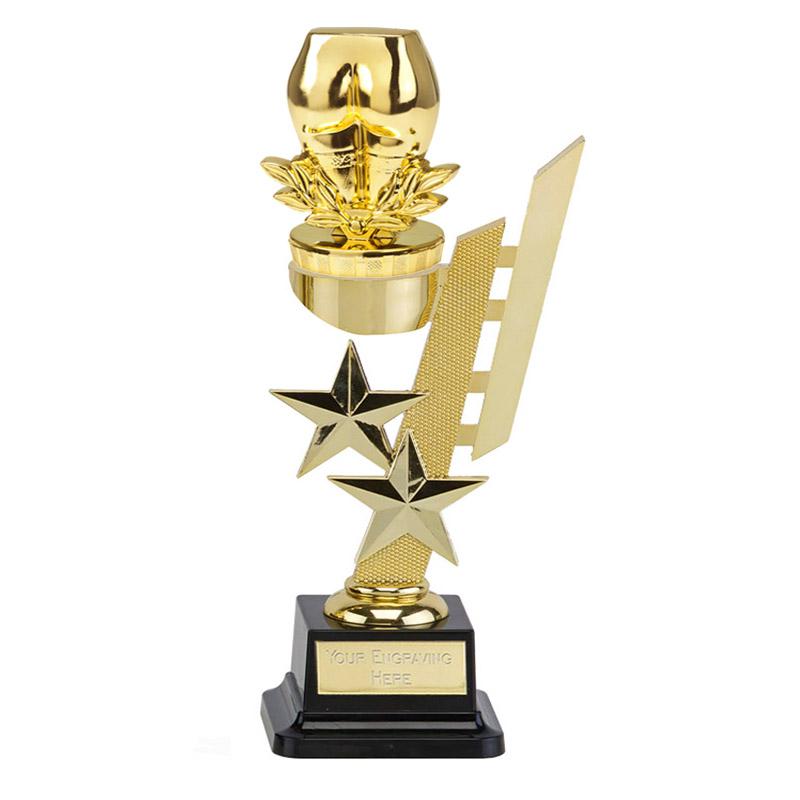 10 Inch Gold Bottom Figure on Sports Star Award