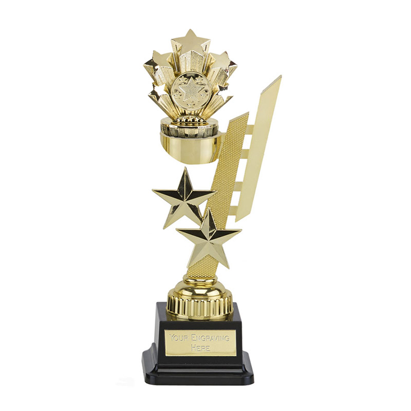 27cm Gold Five Star Figure on Sports Star Award