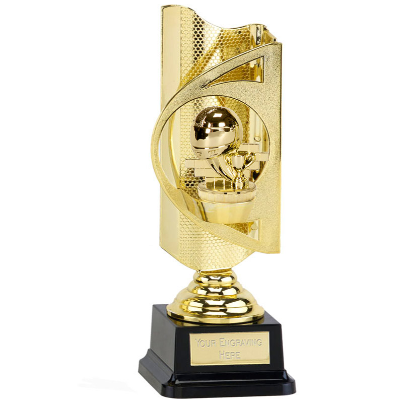 31cm Gold Motorsports Neutral Figure On Infinity Award