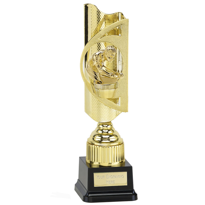 35cm Gold Snooker & Pool Figure On Infinity Award