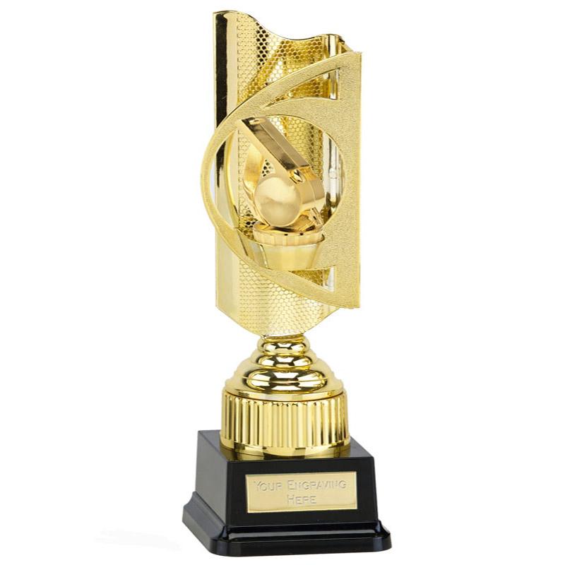 35cm Gold Whistle Figure on Infinity Award