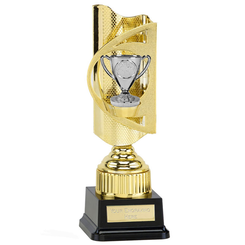 35cm Gold Silver Cup Figure on Infinity Award