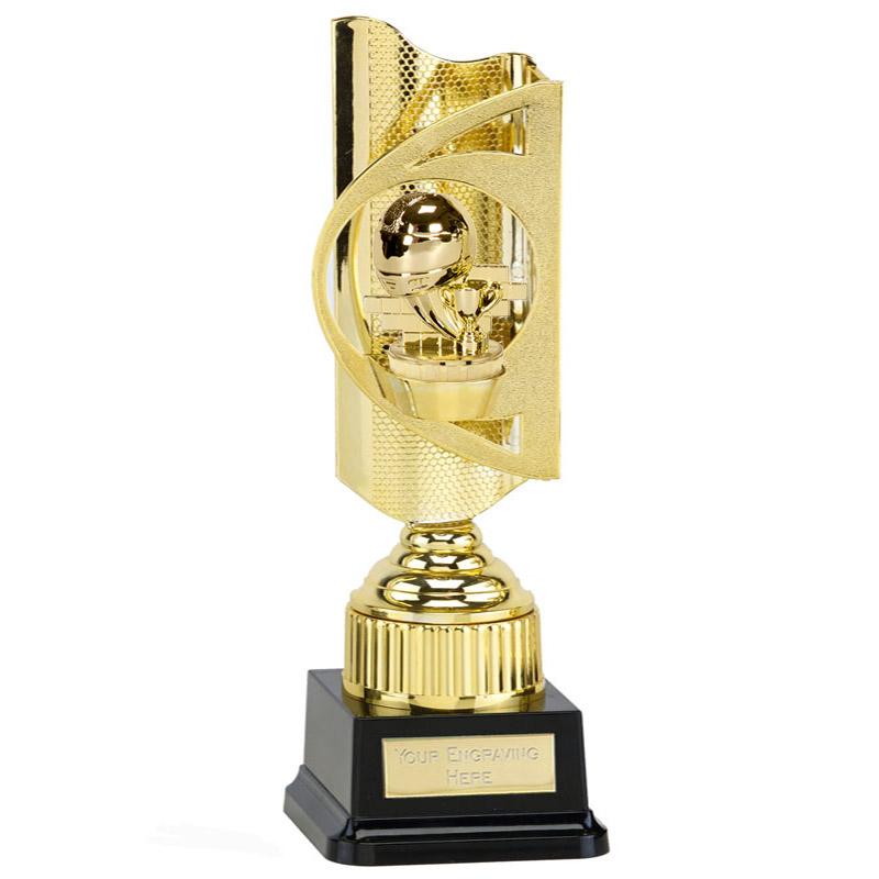35cm Gold Motorsports Neutral Figure On Infinity Award