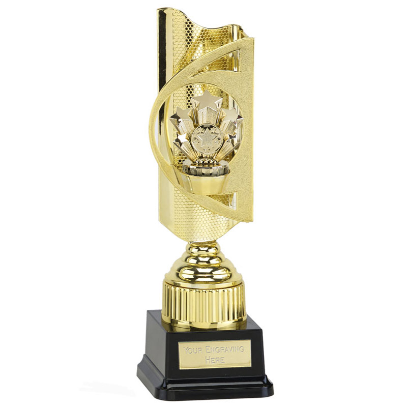 35cm Gold Five Star Figure on Infinity Award