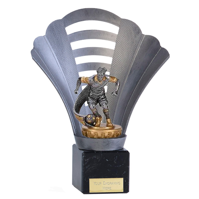 8 Inch Football Figure On Arena Award