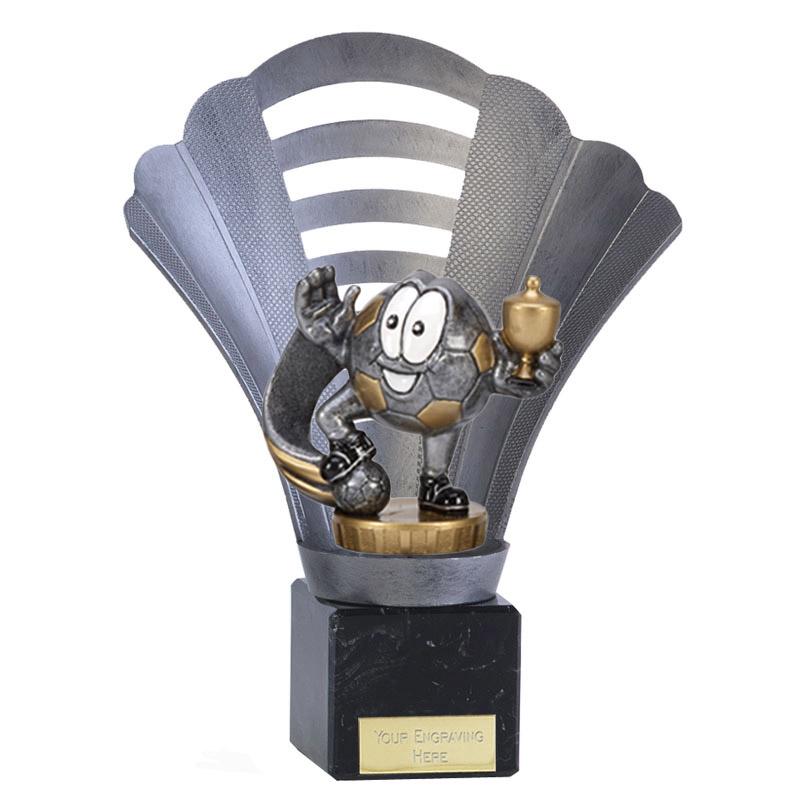 8 Inch Football Figure On Arena Award
