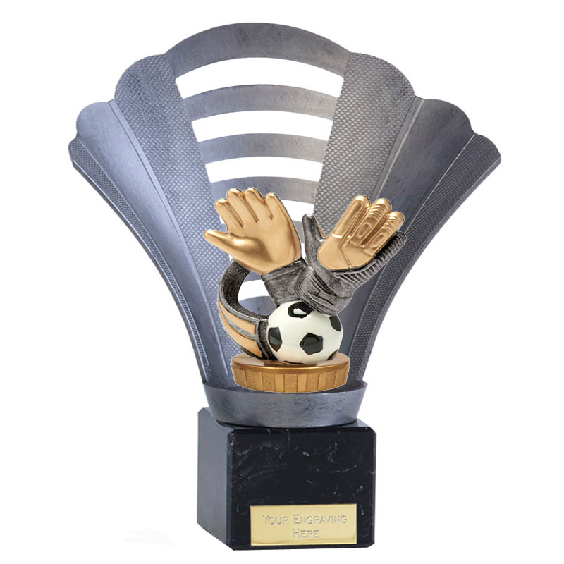8 Inch Keeper Glove Figure On Football Arena Award