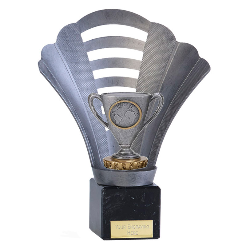 8 Inch Cup with Centre Figure on Football Arena Award