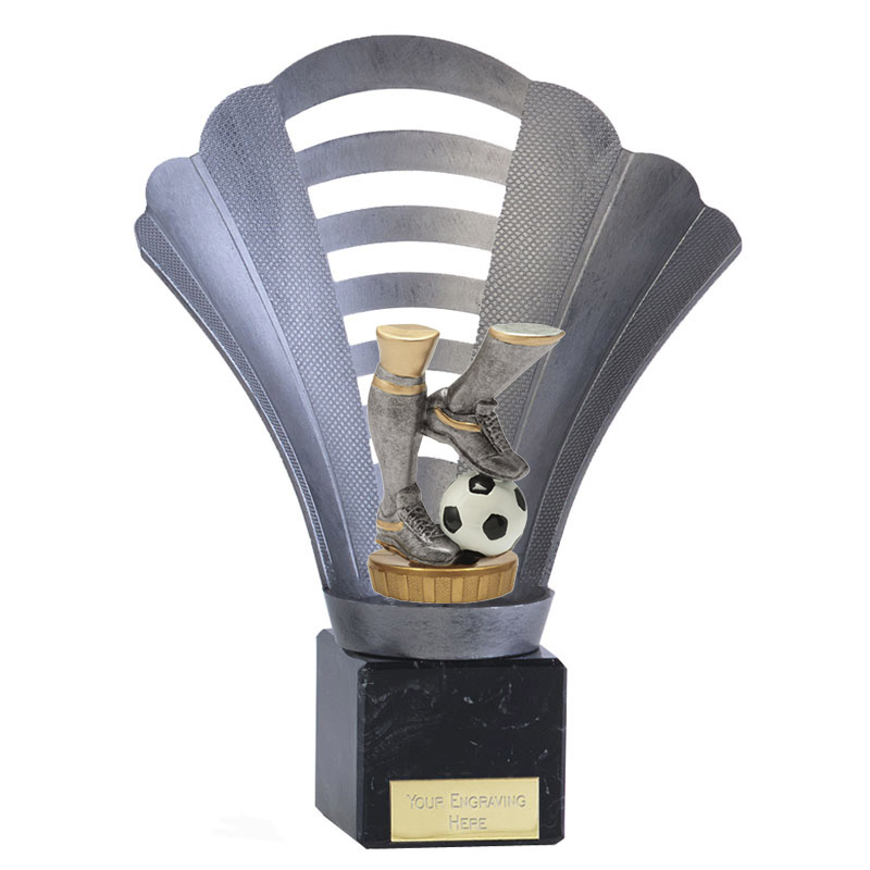 8 Inch Football Legs Figure On Arena Award