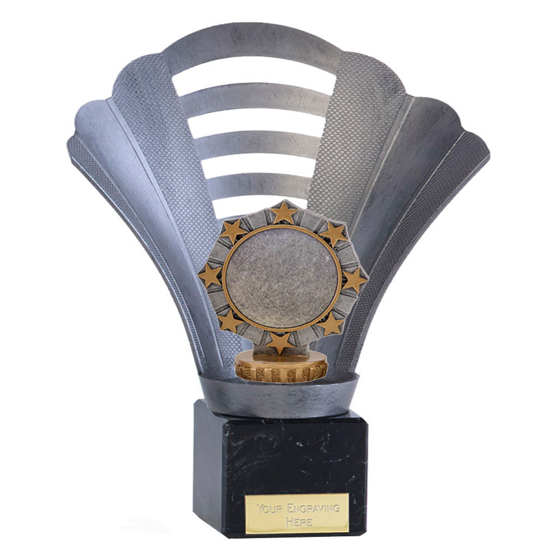 8 Inch Worlds Best centre Figure on Football Arena Award