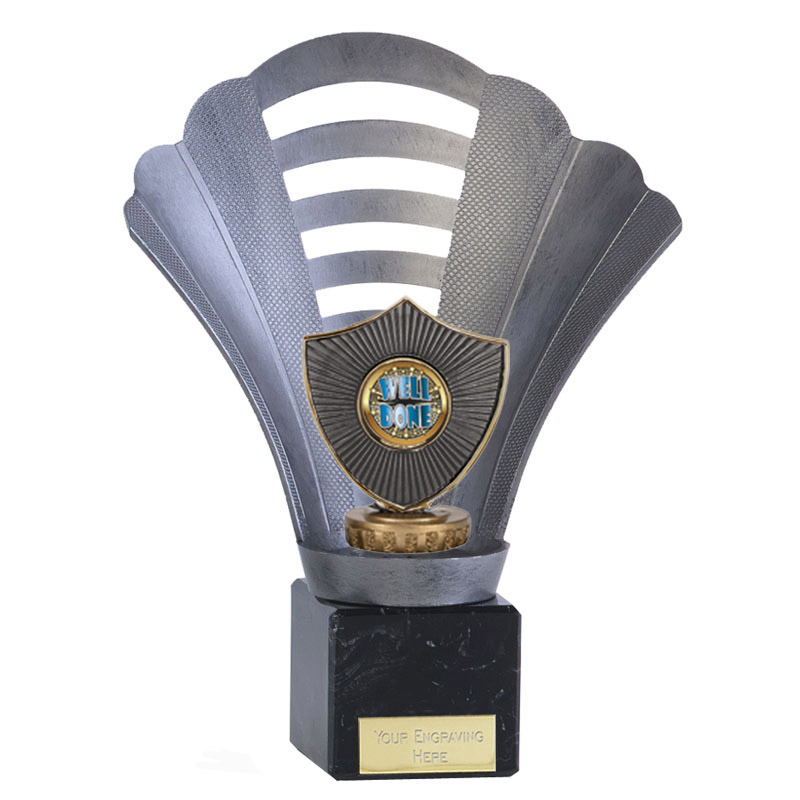 8 Inch Centre Shield Figure on Football Arena Award