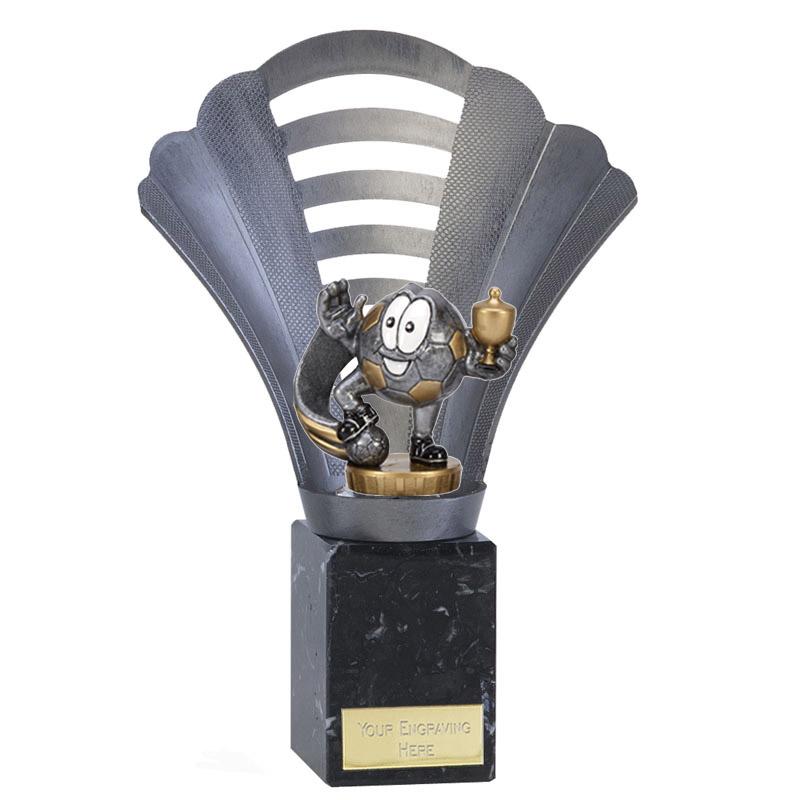 23cm Football Character Figure on Football Arena Award
