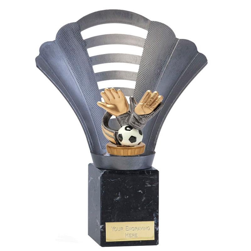 23cm Keeper Glove Figure on Football Arena Award
