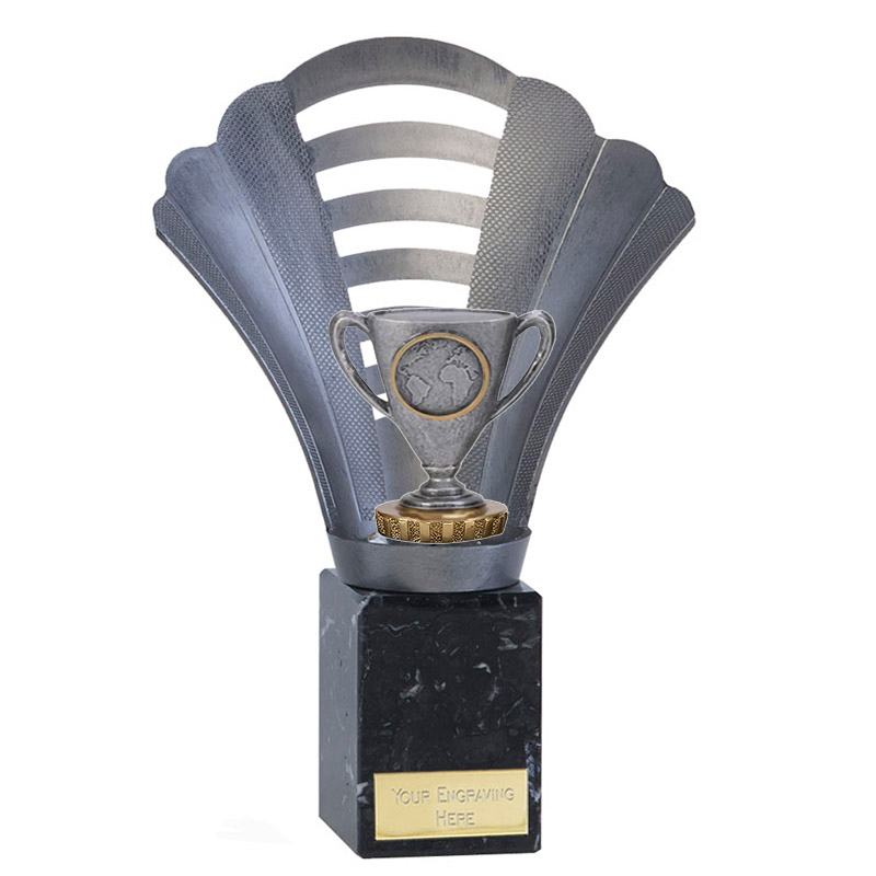 23cm Cup with Centre Figure on Football Arena Award
