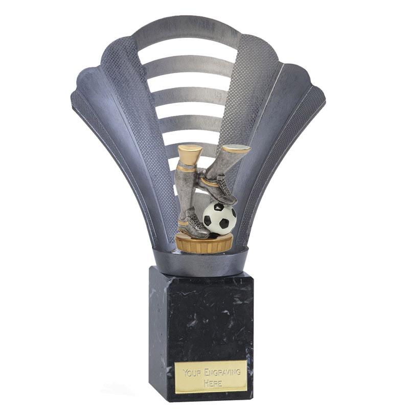 23cm Football Legs Figure On Arena Award