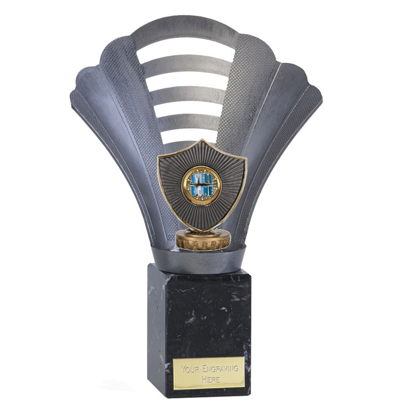 23cm Centre Shield Figure on Football Arena Award