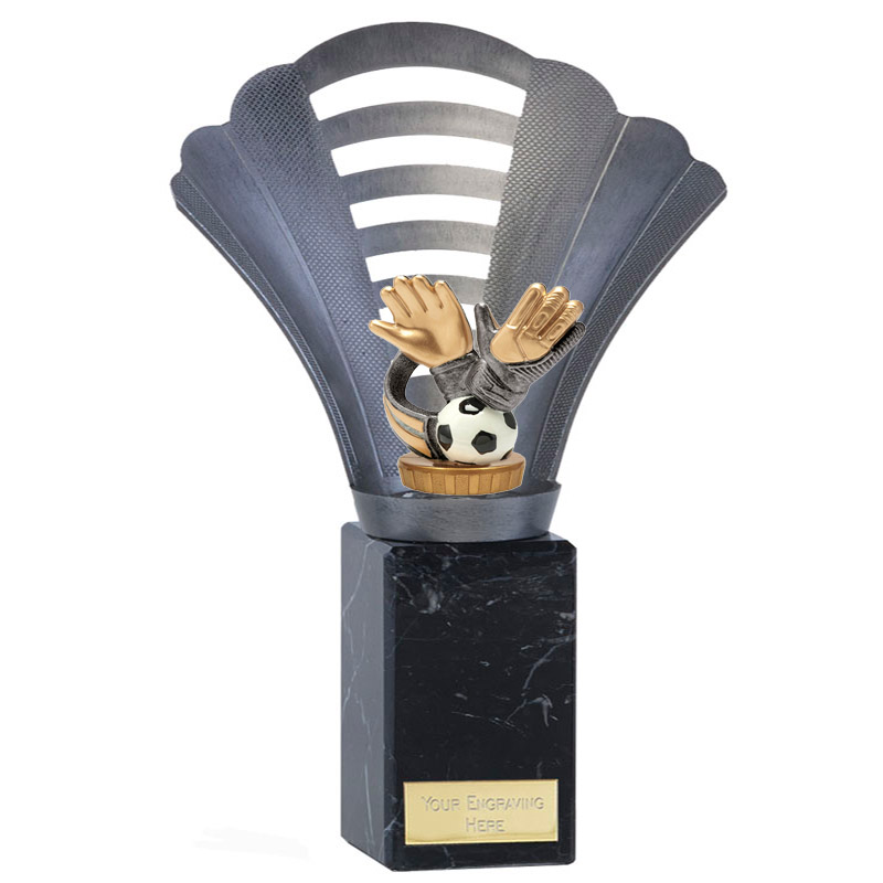 10 Inch Keeper Glove Figure on Football Arena Award