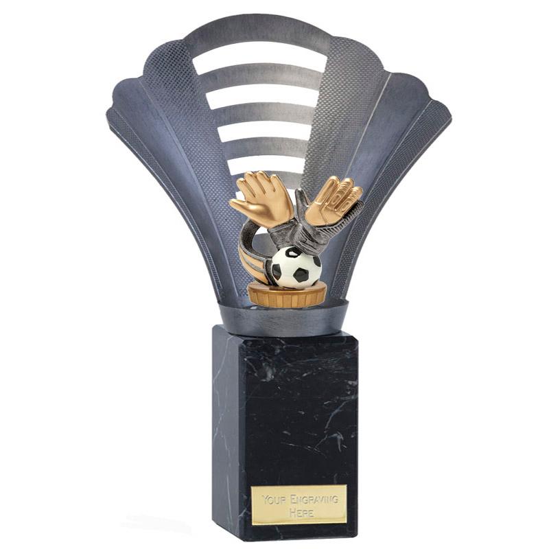 10 Inch Keeper Glove Figure on Football Arena Award