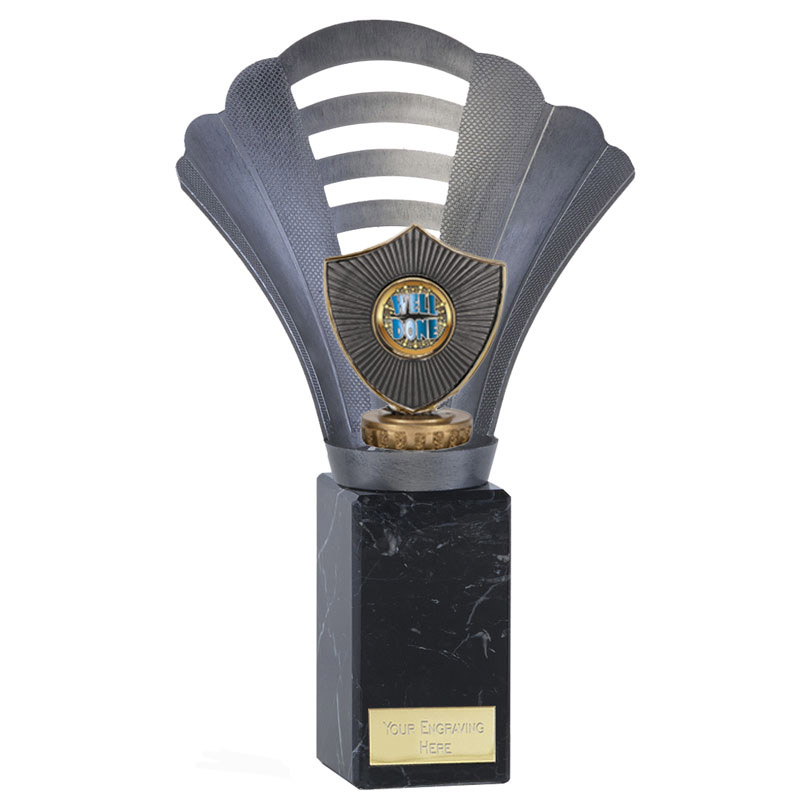 10 Inch Centre Shield Figure on Football Arena Award