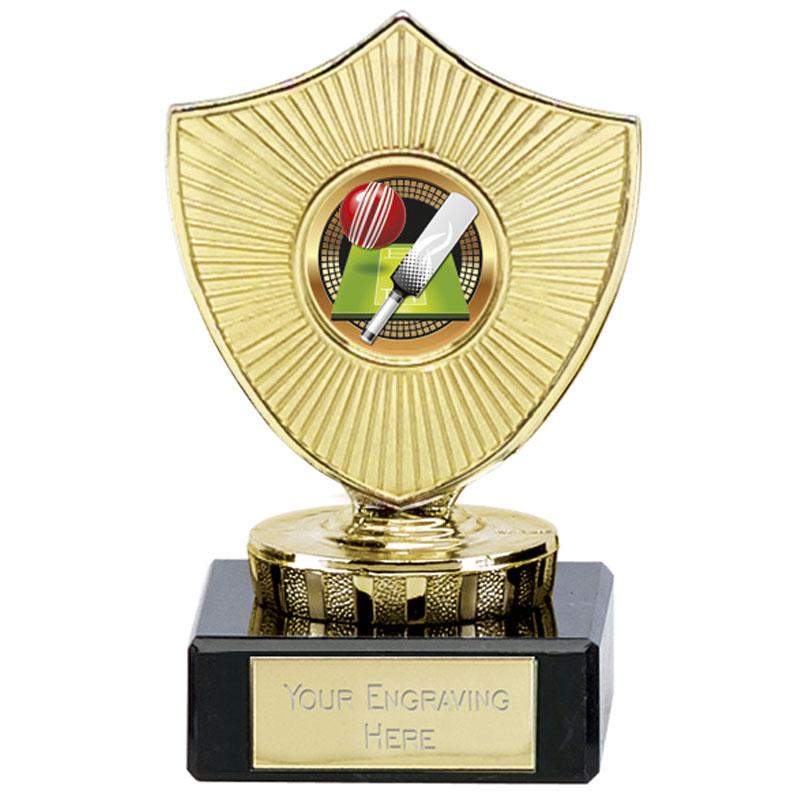 4 Inch Small Cricket Cricket Spectrum Mini Shield