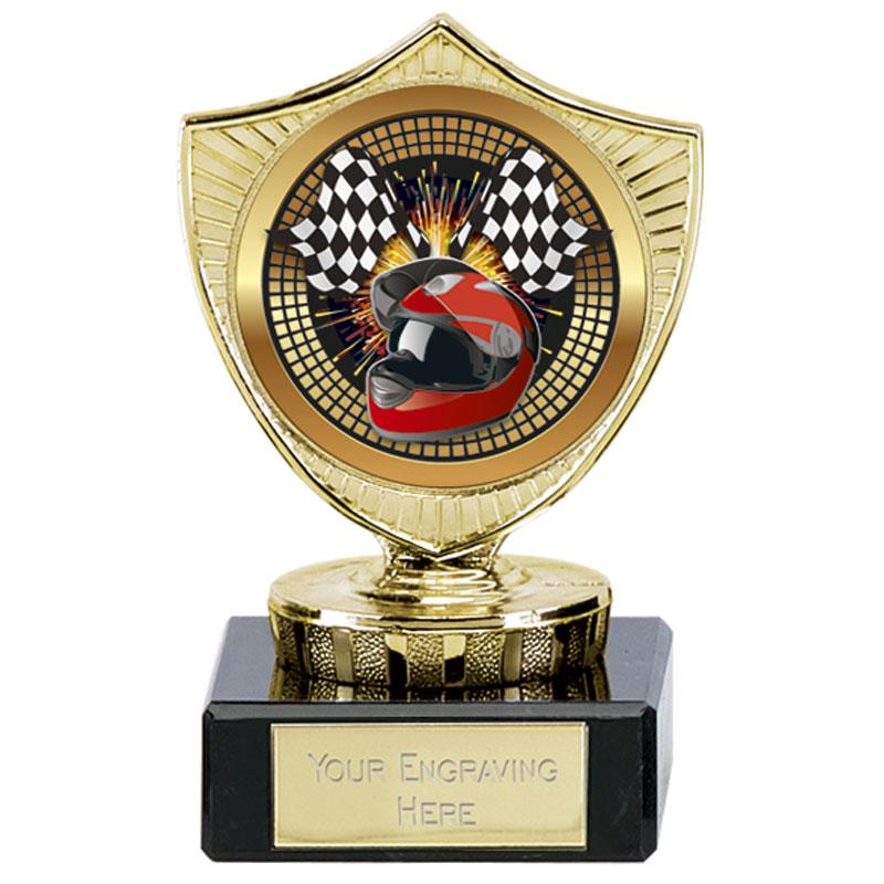 Large Motorsports Spectrum Mini Shield