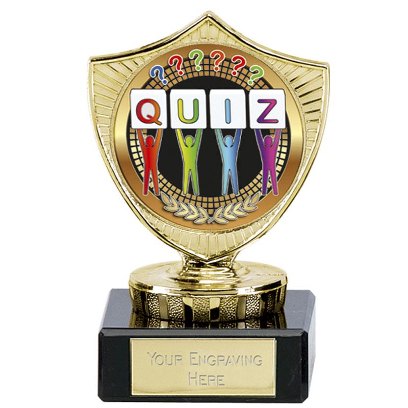 Large Quiz Spectrum Mini Shield
