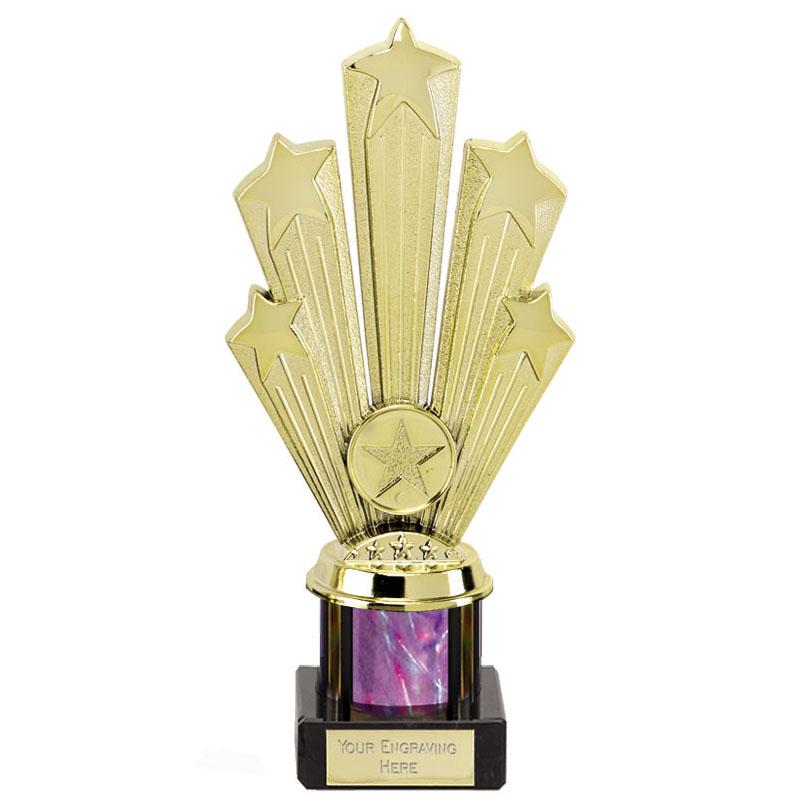 8 Inch Starburst Pink Podium Supreme Award