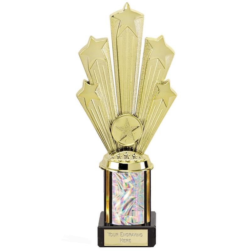 9 Inch Starburst Glitter Podium Supreme Award