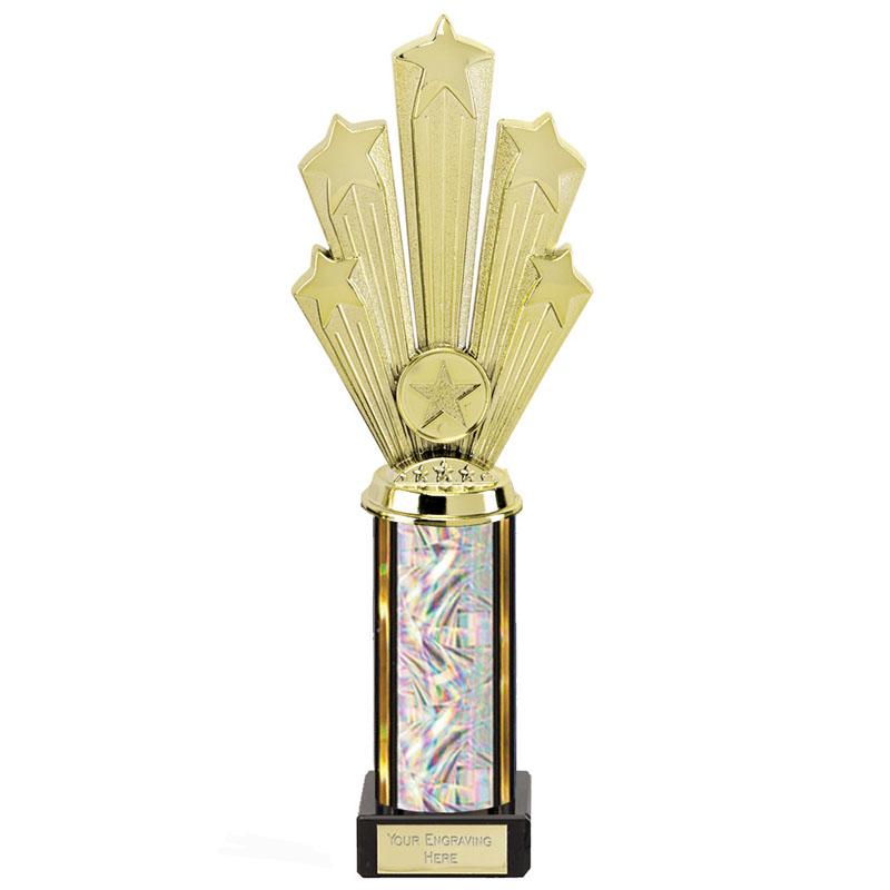 11 Inch Starburst Glitter Podium Supreme Award