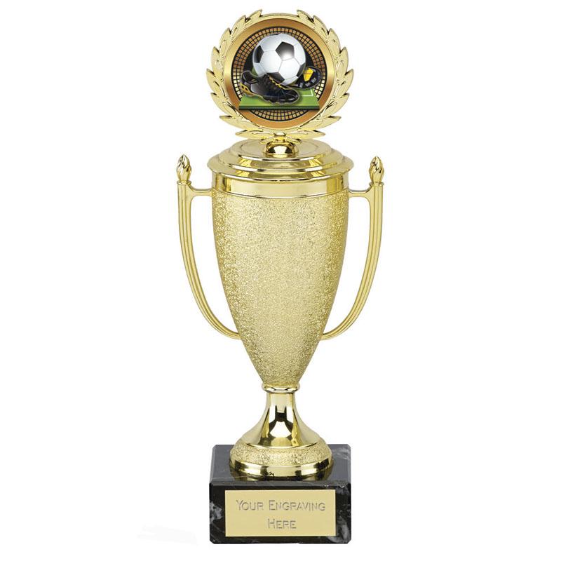 10 Inch Golden Centre Holder Lid Churchill Award