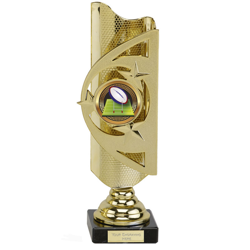 11 Inch Gold Centre Holder Infinity Award