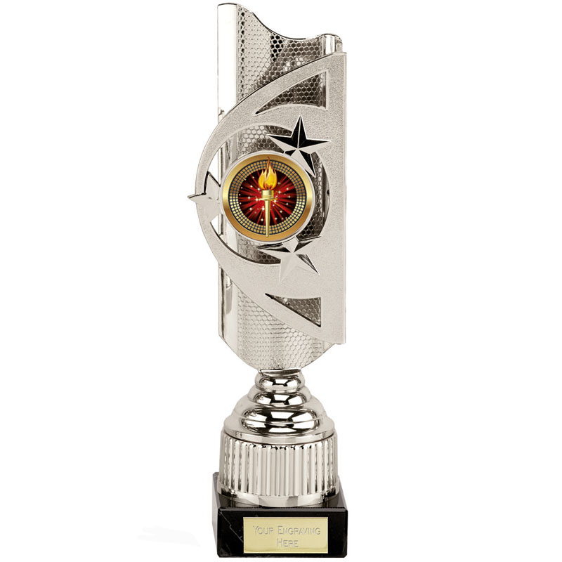 12 Inch Silver Centre Holder Infinity Award