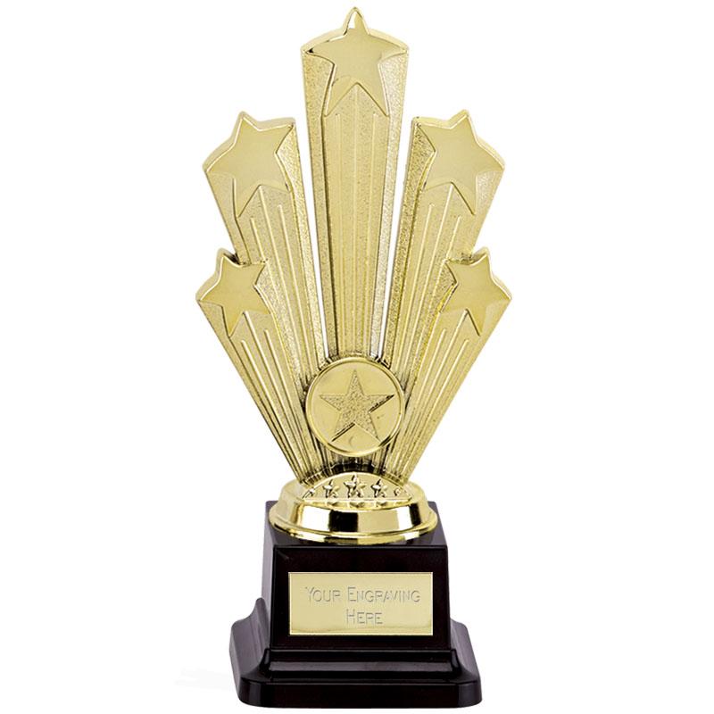 8 Inch Large Base Gold Starburst Supreme Award