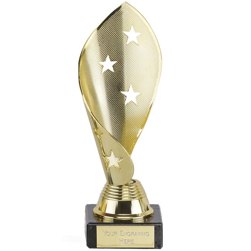 7 Inch Gold Star Twist Festival Award
