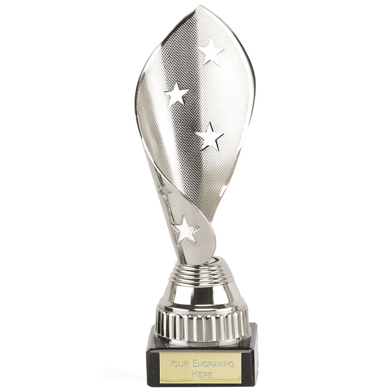 7 Inch Silver Star Twist Festival Award