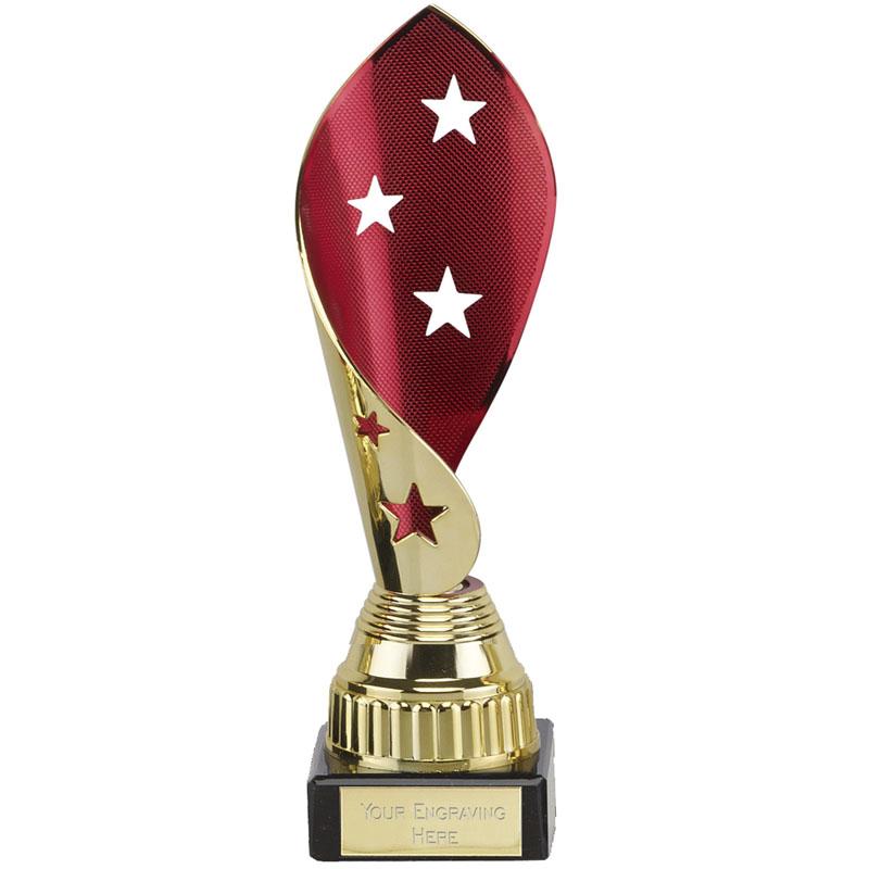 Red & Gold Star Twist Festival Award
