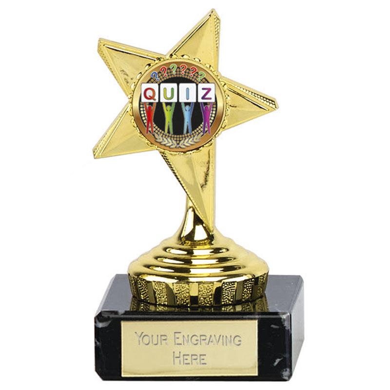 Gold Centre Star Mini Award