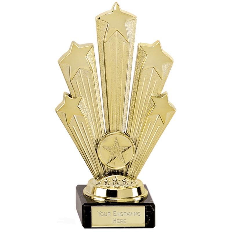 7 Inch Gold Five Star Supreme Award