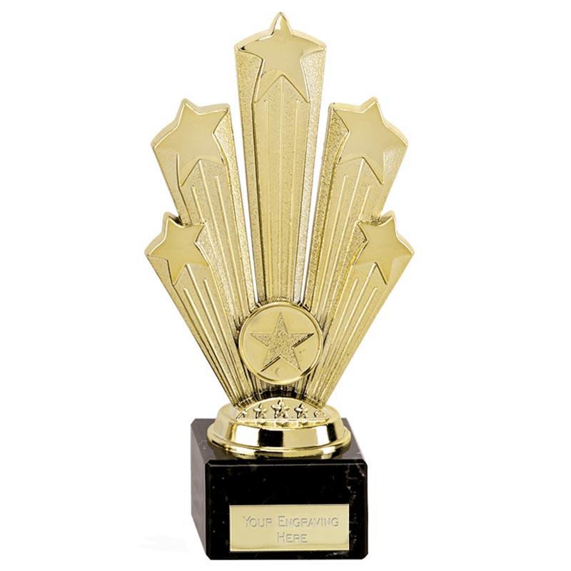 8 Inch Gold Five Star Supreme Award