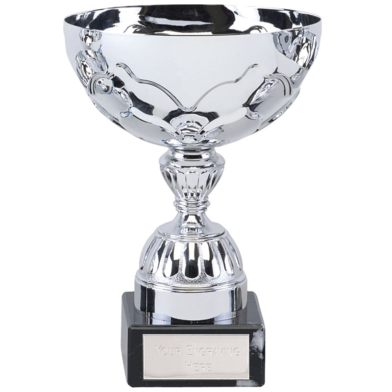 6 Inch Decorative Stem Eagle Trophy Cup